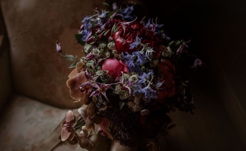 Original wedding bouquet