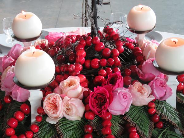 Navidad con velas