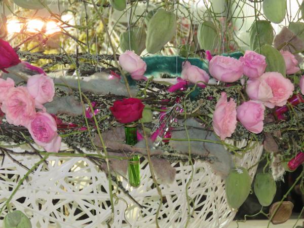 Reposición de flores