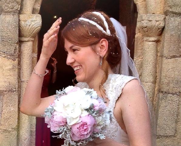 Peonias ramo de novia
