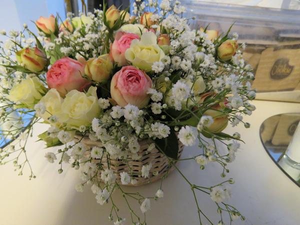 Reposición flores
