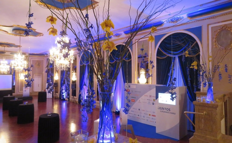 Decoraciones eventos corporativos