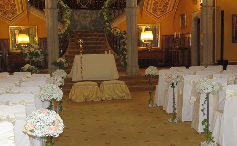 Arreglos florales en bodas