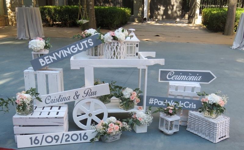 Complementos para bodas