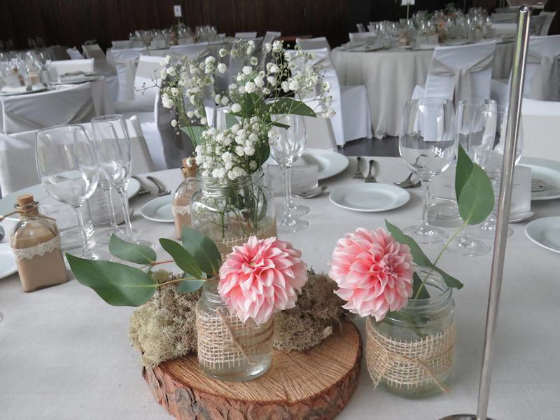 Decoración de bodas Món Sant Benet