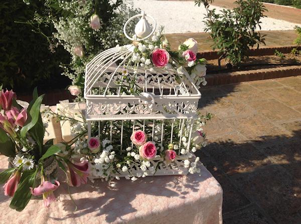 Florista bodas románticas