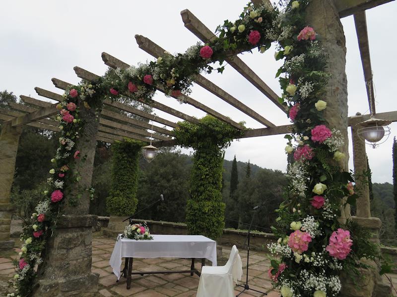 Decoración de boda Barcelona