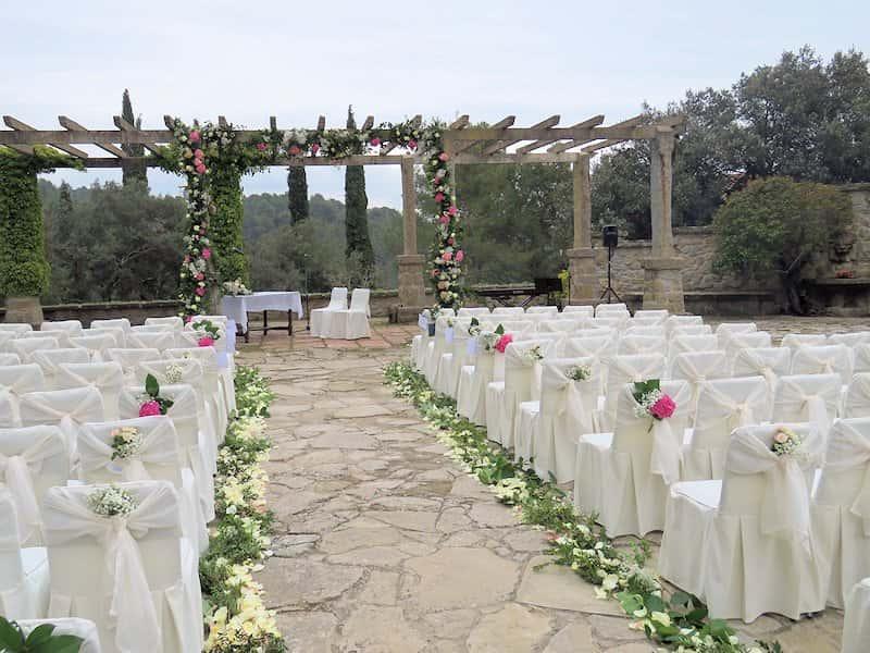 Wedding Florist in Barcelona