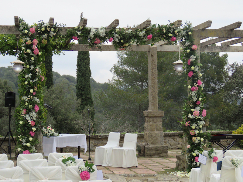 Decoración de bodas Barcelona