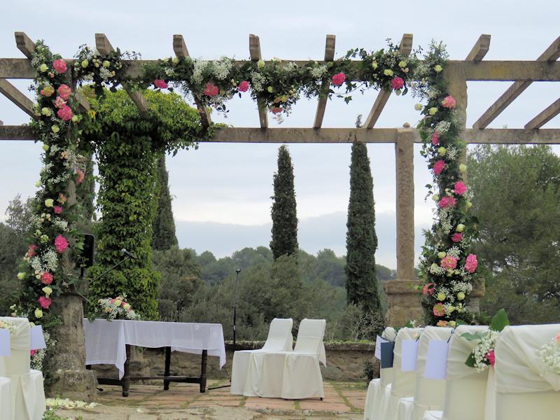 Florista bodas Barcelona