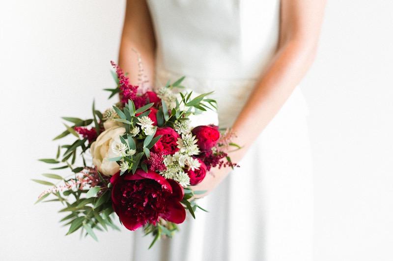 Bouquet con Peonias