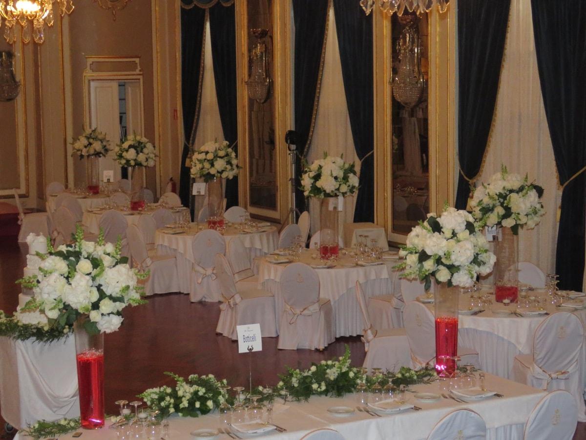 Centros de mesa para bodas de lujo