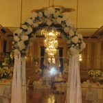 Decoración boda civil de lujo