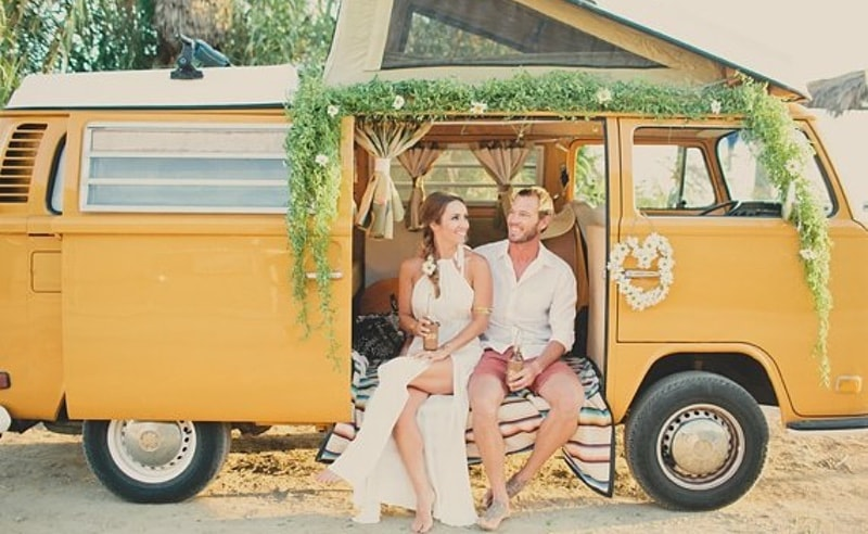 Ideas para decorar una boda hippie en el campo