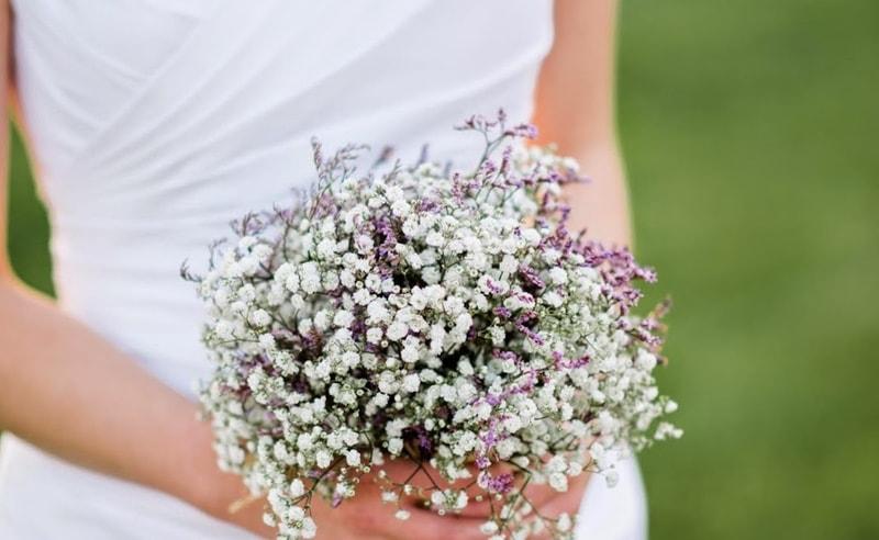 Ramo de novia con paniculata