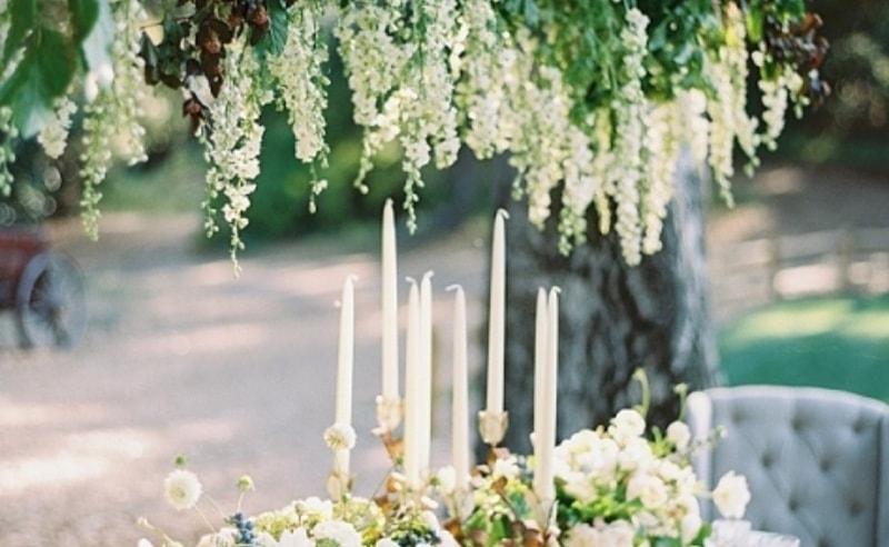 Centros De Mesa Y Arreglos Florales Colgantes