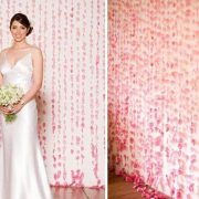 ¿Cómo decorar con cortinas de flores?
