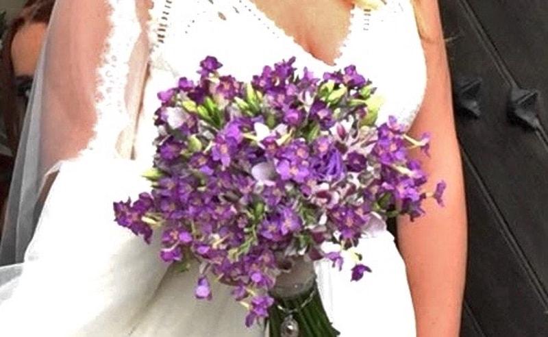 Flores preservadas boda