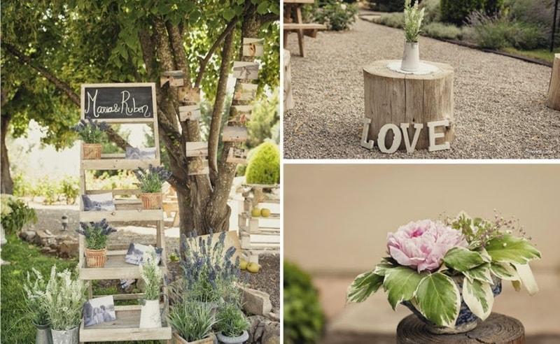 Decoraci n r stica para tu boda o evento - Decoracion rustica fotos ...