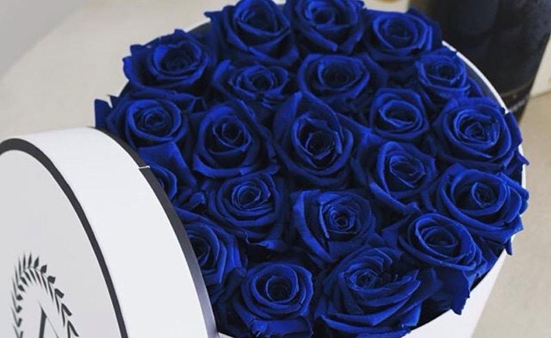 Flores boda preservados