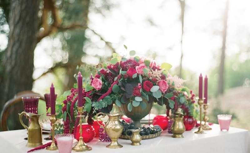 Decoración Boda Boho