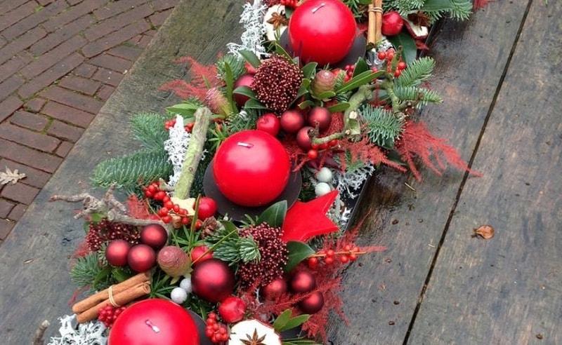 Decoración de mesa Navidad