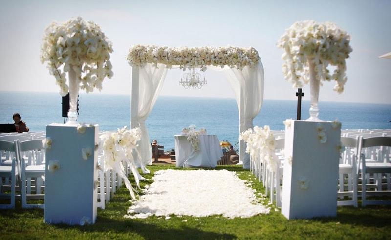 Estilo de boda marinera