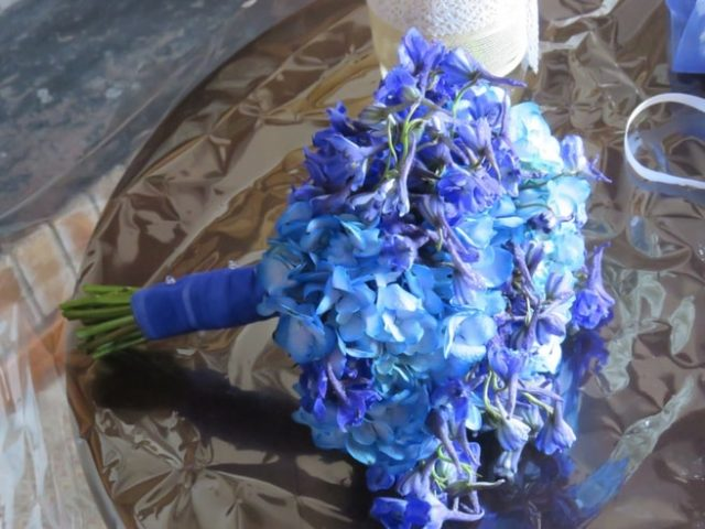 Bouquet azul