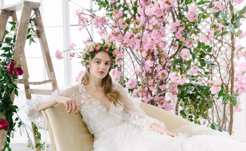 Tendencia boda romántica 2018