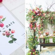10 tendencias en decoración de bodas 2018