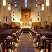 Floral Arrangements for church weddings