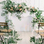 Decoración de Iglesias con flores para bodas
