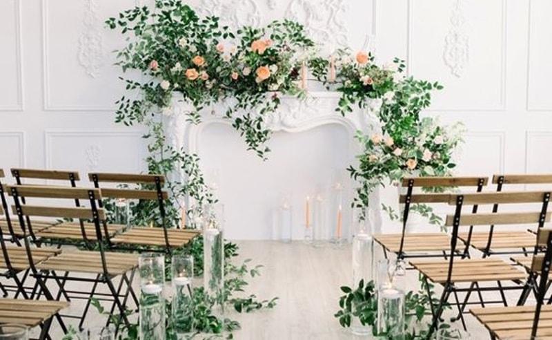 Decoración De Iglesias Con Flores Para Bodas Judithjordacom
