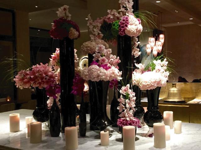 reposicion de flores