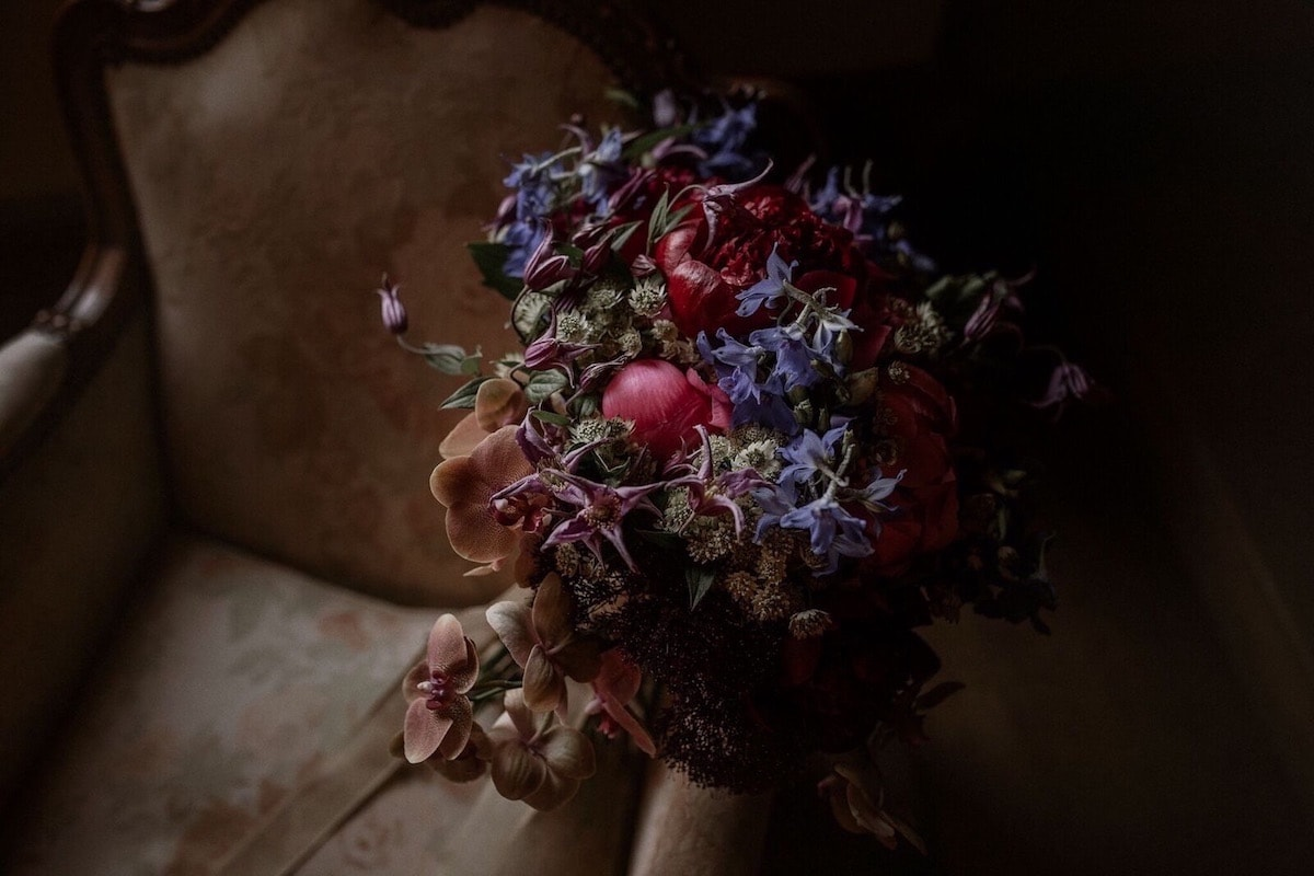 Estilo de ramo de novia