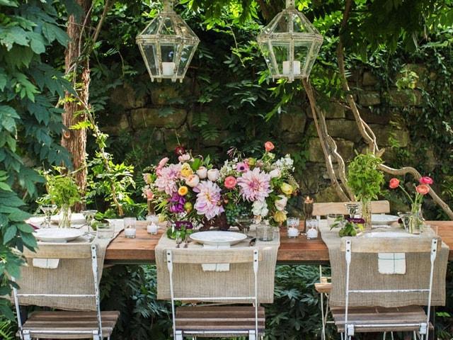 Sillas de madera para bodas