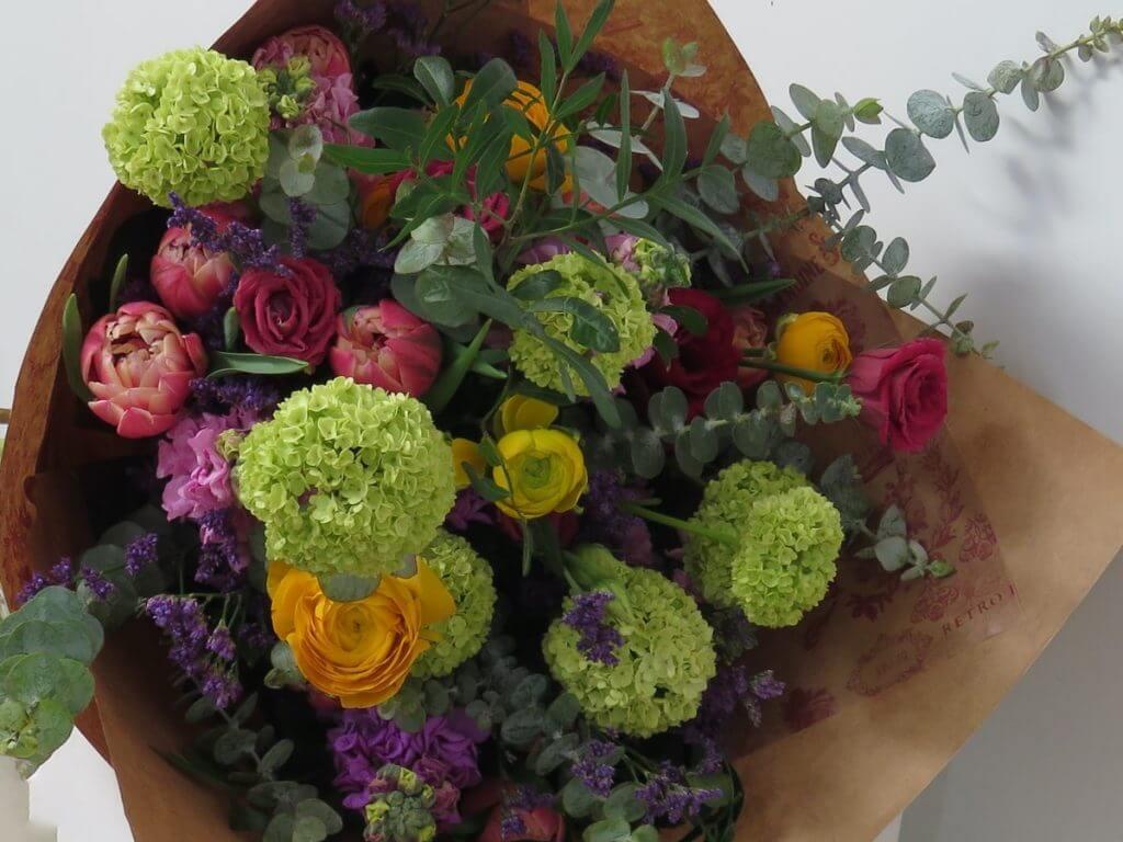 Ramos de flores para cumpleaños en Barcelona