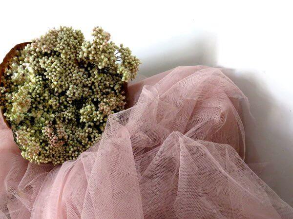 Ramod de flores preservadas