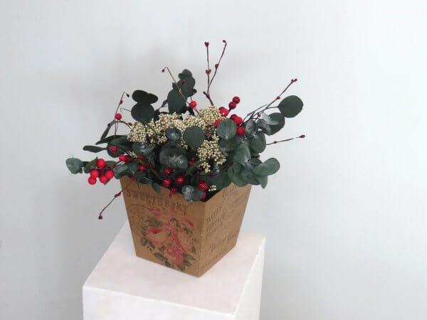 Flores preservadas Navidad