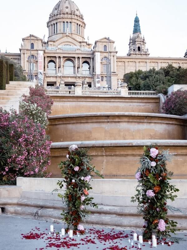 Wedding proposal Barcelona